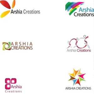 Logo Designs for Arshia Creations